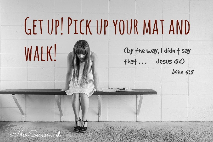 Pick Up Your Mat A Widow S Might