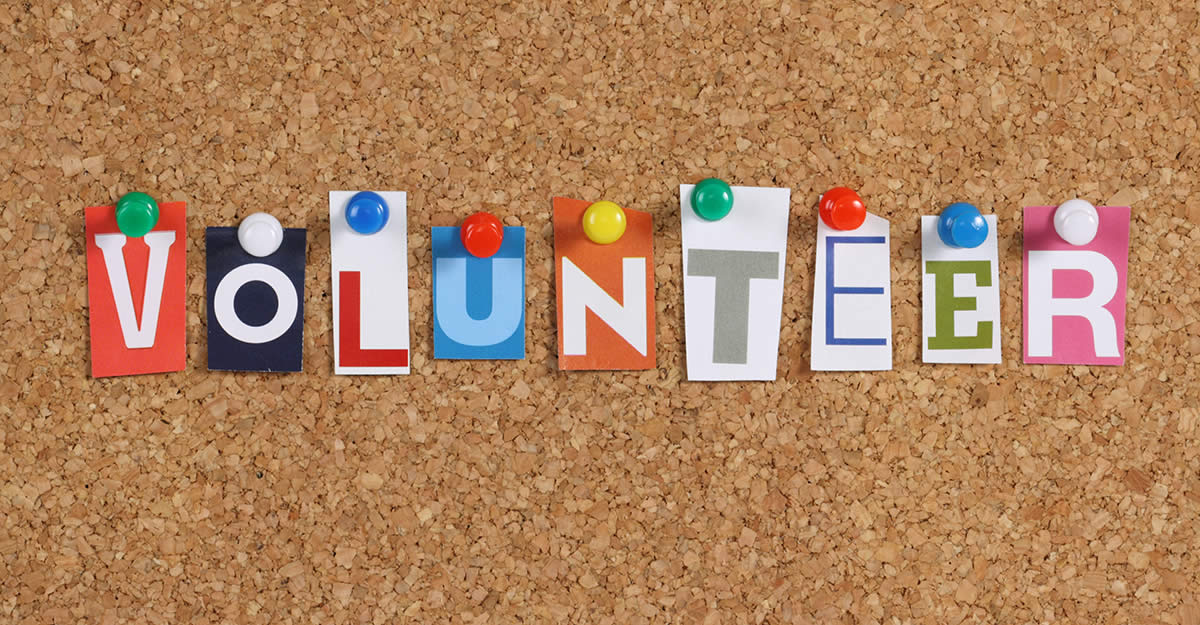 Volunteer your time and talents